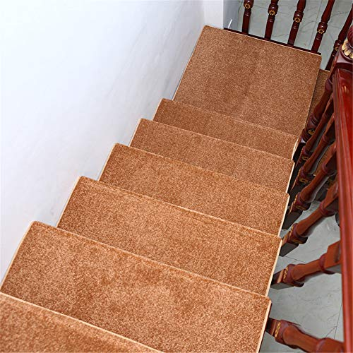 13 stuks trapmatten antislip volledig laden vrije lijm zelfklevende mat huishoudhouttrap Carpet hoge dichtheid duurzaam 24 cm x 65 cm, E