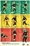 Unbekannt Bob Marley Fußball Maxi Poster