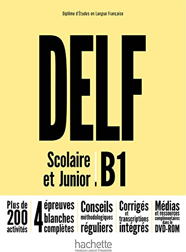 Delf B1. Scolaire et junior. Per le Scuole superiori. Con espansione online. Con DVD-ROM [Lingua francese]: Livre + DVD-Rom B1 - nouv