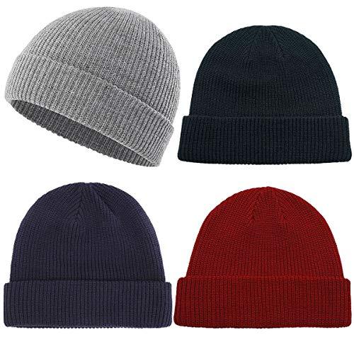 women men winter knit cap