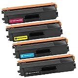 LTZC Cartucho de tóner Compatible para reemplazo TN321, configurado para la Impresora Brother HL-L8250CDN DCP-L8400CDN MFC-L8600CDW-a Set of Colors