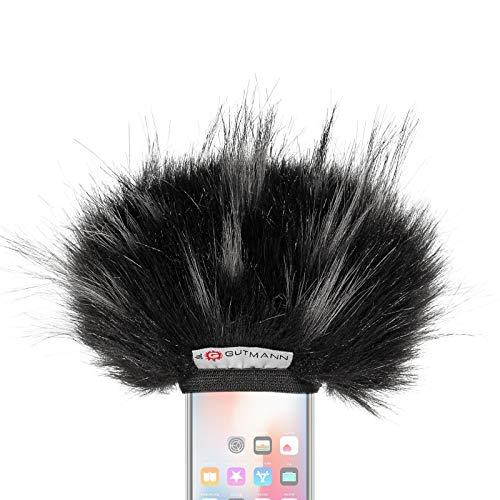 Gutmann Mikrofon Windschutz für Apple iPhone 11 / 11 Pro / 11 Pro MAX / X / XS / XS MAX / XR Sondermodell STAR limitiert
