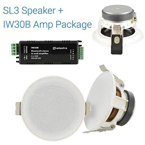 Adastra luidspreker- en wandversterkerset, 30 W