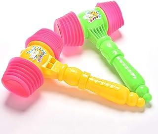 HTJSDC Children's educational toys baby children cute 2 hammer toy