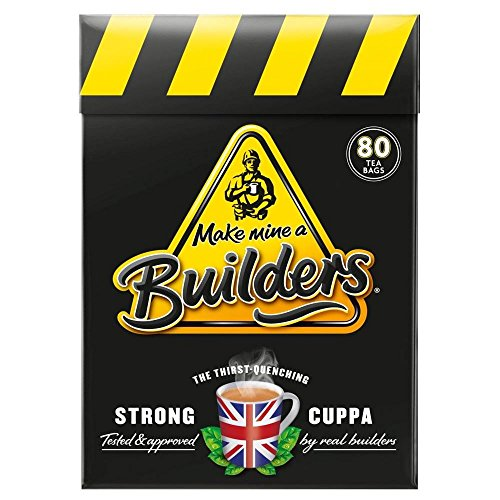 Make Mine a Builders Tea Bags (80) - Pack of 2