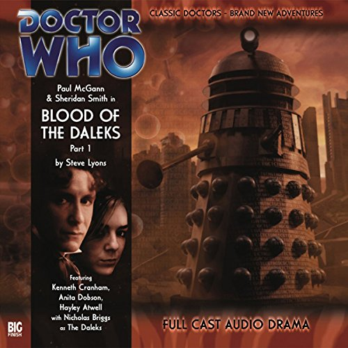 Doctor Who - Blood of the Daleks, Part 1  By  cover art