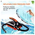 WAVEY BOARD SUP Electric Air Pump 20PSI for Stand Up Paddle Boards, 12V Smart High-Pressure Pump with Intelligent, Inflation and Deflation Pump for Air Mat, Inflatables Boats, Water Sports, Tent