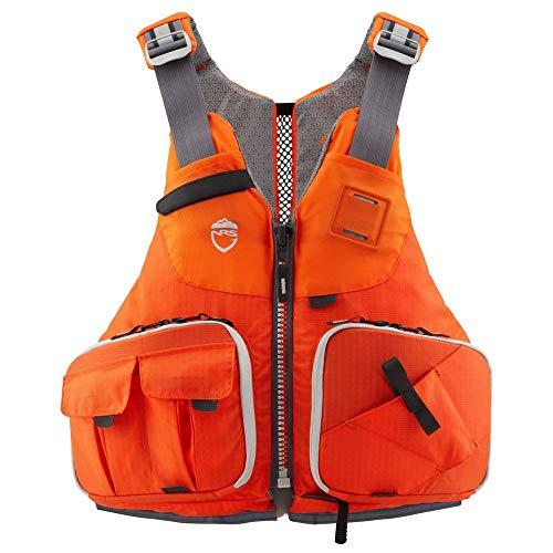NRS Raku Fishing Lifejacket (PFD)-Orange-L/XL