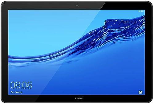 """HUAWEI MediaPad T5 Wi-Fi Tablette Tactile 10.1"""" (32Go, 3Go de RAM, Android 8.0, Bluetooth, 2 haut-parleurs), Noir"""