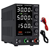 DC Power Supply Variable, Adjustable Switching Regulated Power Supply (0-30 V 0-5 A) with 4-Digits...