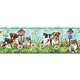 Sanitas Kittens and Puppies Pets Wallpaper Border CK062171B