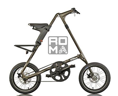 Strida Riace - Bici pieghevole con Fat Tyre - Strida Roma Limited Edition