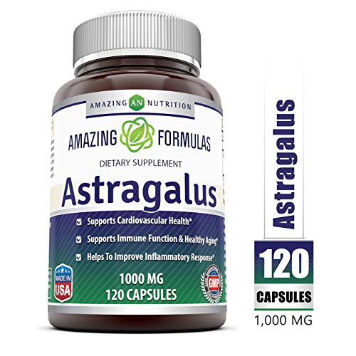Amazing Formulas Astragalus All Natural Dietary Supplement