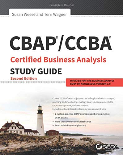 CBAP / CCBA Certified Business Analysis Study...