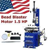 Mayflower - 1.5 Horse Power Tire Changer Wheel Changers Machine Rim clamp 950 Bead Blaster / 1 Year Full Warranty
