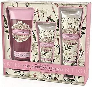 AAA Bath & Body Collection - Shower Gel 200ml, Hand Cream 60ml & Body Cream 130ml (White Jasmine)