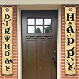 Magical wizard harry Birthday Banner - Wizard Harry Party Decorations Supplies Happy Birthday Banner...