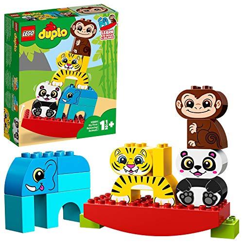 LEGO® DUPLO® Mes 1ers pas Ma première balançoire des animaux Jeu de construction, 18 Mois et Plus, 15 Pièces 10884