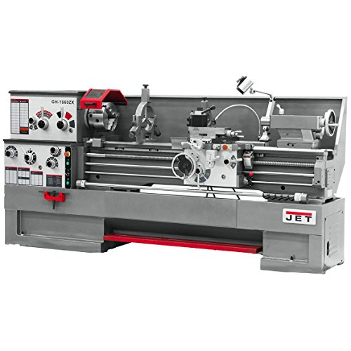 Best Bargain JET GH-1860ZX-TAK Lathe with Taper Attachment Installed