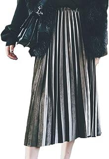 b90dda66d1a BOLAWOO-77 Jupes Dames Casual Jeune Mode Été Jupe Dames Jupe Mode Chic  Plissée Taille