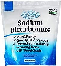 Duda Energy sbc5f USP Pure Sodium Bicarbonate Powder Highest Quality Organic Food Grade ORMI Listed Pure Baking Soda, 5 lb.