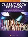 Classic Rock For Two - Easy Clarinet Duets Songbook: Easy Instrumental Duets (Easy Instrumental Duets: Clarinet) (English Edition)