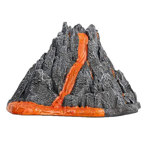 XIMIN Simulación de erupción volcánica, juguete de simulación de sonido, spray de luz, juguete de decoración para niños, juguete de ciencia y educación, kit de ciencia volcánica
