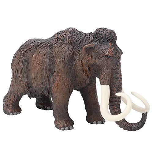 Figura de elefante de juguete, miniatura salvaje Safari Mundo de vida silvestre Figuras de animales Decoración de escritorio Modelo de elefante Juguete Decoración del hogar Regalos(#1)
