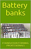 Battery banks (backup energies Book 4)