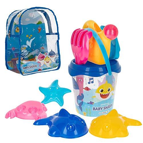 Baby Shark - Mochila, cubo y accesorios de playa Baby Shark (77247)
