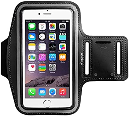 for iPhone Sports Gym Armband Case Running Jogging Cover Holder Sportband with Built-in Key