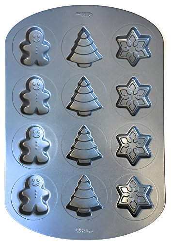 Wilton Winter-Holiday Cookie Baking Pan