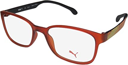 Puma 15440 For Men/Women TIGHT-FIT Designed for Jogging/Cycling/Sports Activities Eyeglasses/Eyewear