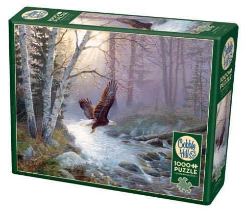 Cobble Hill 1000 Piece Puzzle - Spring Run - Sample Poster Included