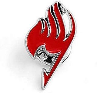 Fairy Tail Spilla Pin Logo Gilda - Rosso