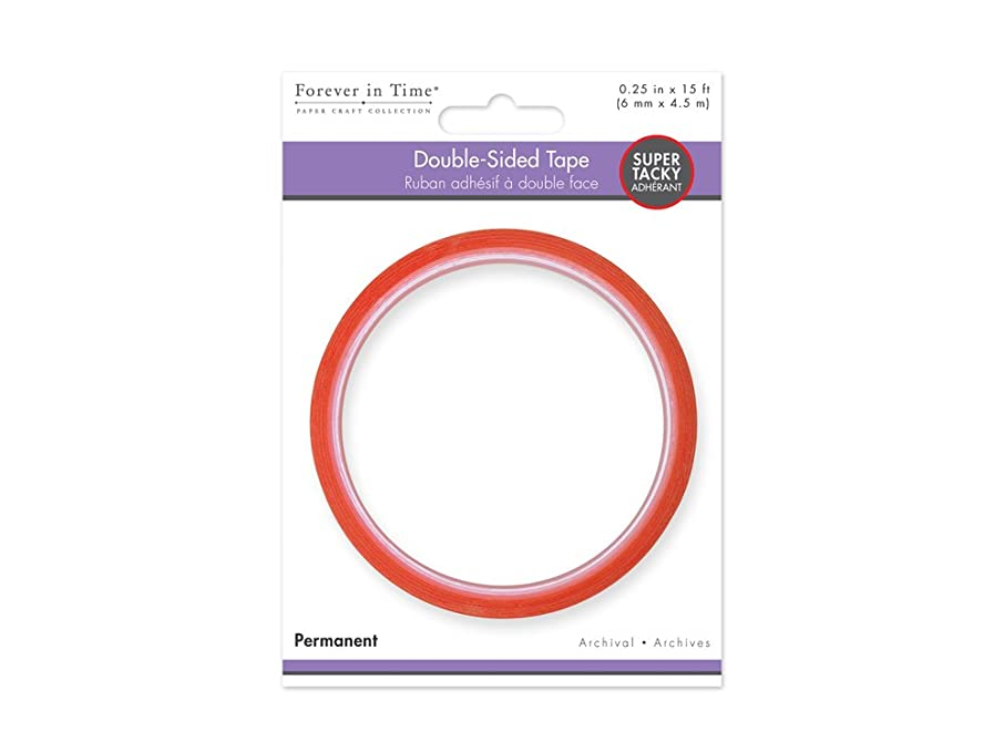Forever in Time ST520 Super Tacky Red Double-Side Adhesive, 6mm