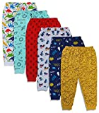X2O Cotton Baby Pajama Pants with Rib (Unisex) (Multicolor) (Assorted Prints) (5 to 6 Years) Pants_001