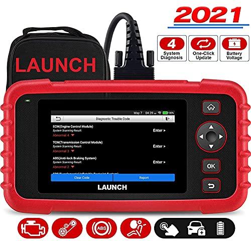 LAUNCH CRP123X OBD2 Lecteur de Code Automobile Professionnel pour Transmission du Moteur ABS SRS Diagnostic avec mises à Jour du Service AutoVIN Wi-FI