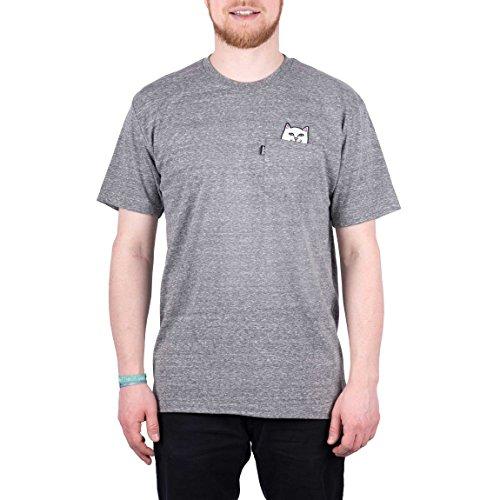 RIPNDIP T-Shirt Lord Nermal grau meliert (athletic grey) Groesse L