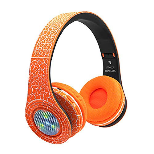 QLMY Active Noise Cancelling hoofdtelefoon Bluetooth hoofdtelefoon waterdicht Hd Stereo Sport draadloze headset met microfoon inklapbaar geschikt voor fitnessruimte, hardlopen, heren en dames