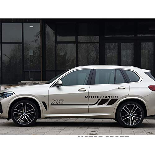 HLLebw Auto Pegatinas de Calcomanías para BMW X5 E53 E70 F15 G05