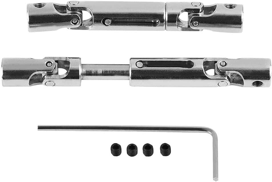 Facibom 2 Pcs Upgrade Accessories Quantity limited Metal Max 61% OFF Shaft for Drive WPL 1 16