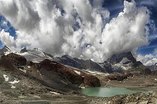 KCHUEAN 1000 Piezas Rompecabezas Decoracion De Muebles Suiza Zermatt De Madera Montaje Personalizado