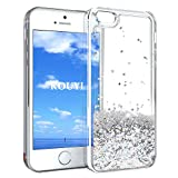 Coque iPhone 5/5S/SE,KOUYI Luxe Flottant Liquide Étui Protecteur TPU Bumper Cover...