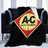 5husihai Allis Chalmers Blanket Super Soft Cozy Lightweight Microfiber 80'X60' for Bed Soft Couch Living Room