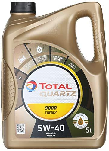 Brennenstuhl Total Motorenöl 5W-40 Quartz 9000 Energy, 5 Liter