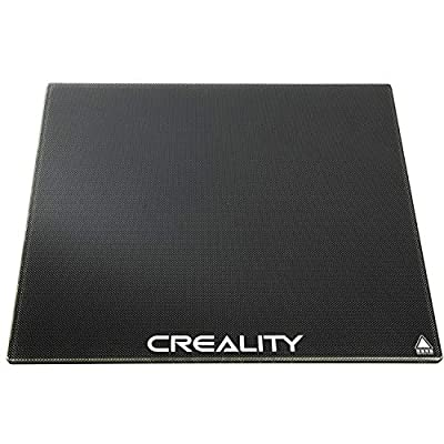 ACENIX Creality Ender 3 Glass Bed - Upgraded 3D Printer Glass Platform Hot Heated Bed Build Surface Tempered Glass Plate for Ender 3 Ender 3 Pro 3D Printer 235x235x4mm