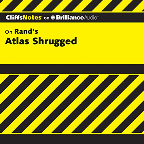 Atlas Shrugged: CliffsNotes audiobook cover art