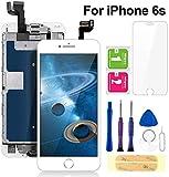 FLYLINKTECH écran pour iPhone 6s Blanc 4,7' LCD de Remplacement Complet - préassemblés LCD avec...