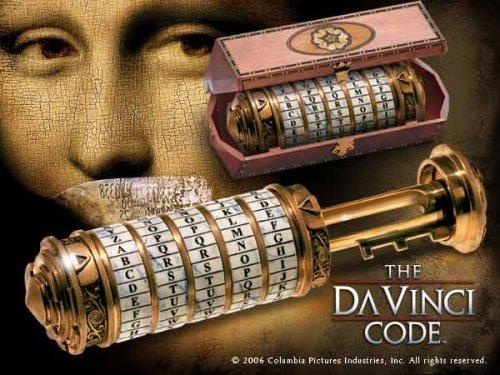El Código Da Vinci: cryptex con Caja